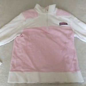 Vineyard Vines Pink 1/4 Zip XXS